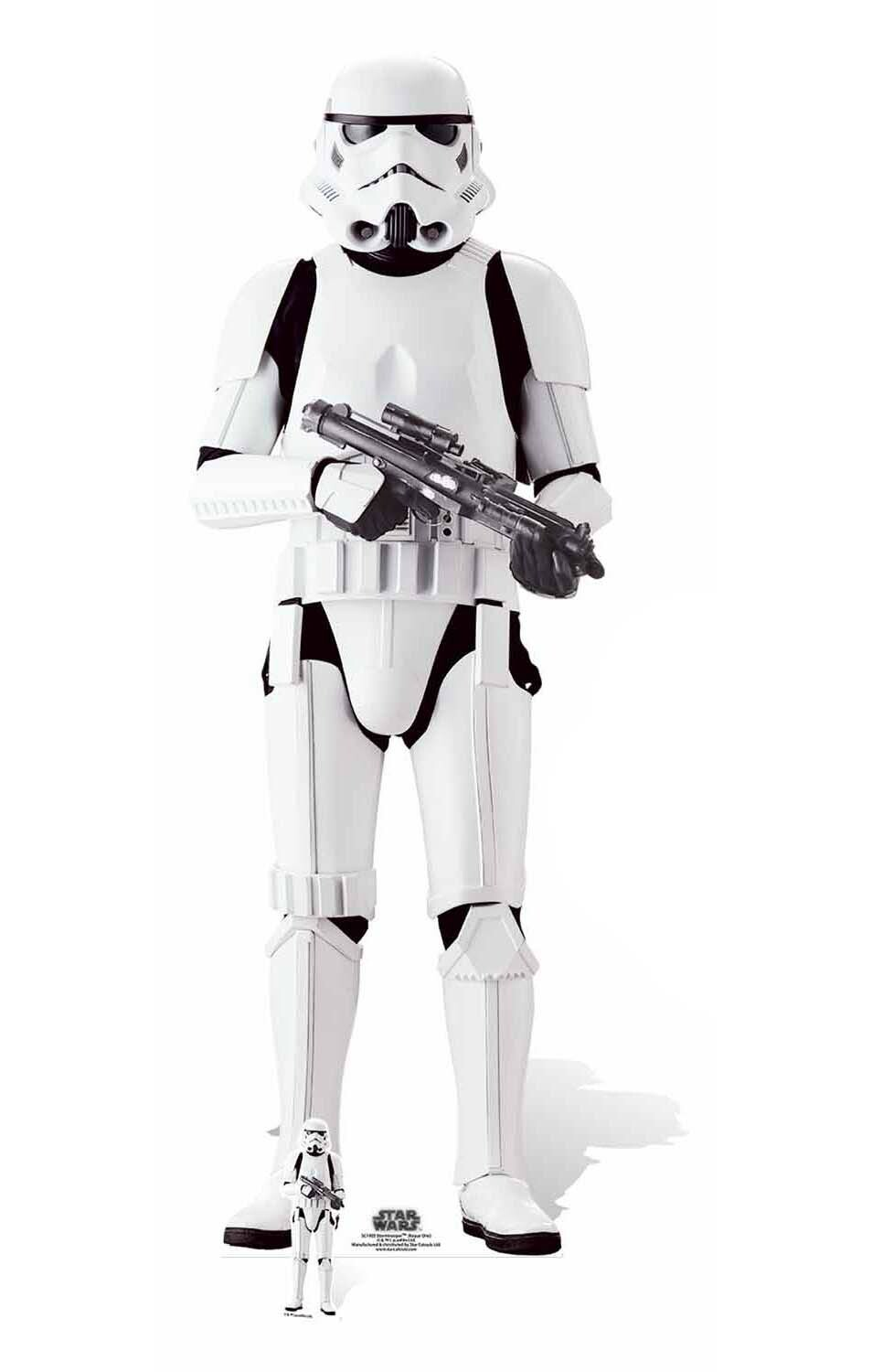 Imperial Stormtrooper Rogue One A Star Wars Story Lifesize Cardboard Cutout