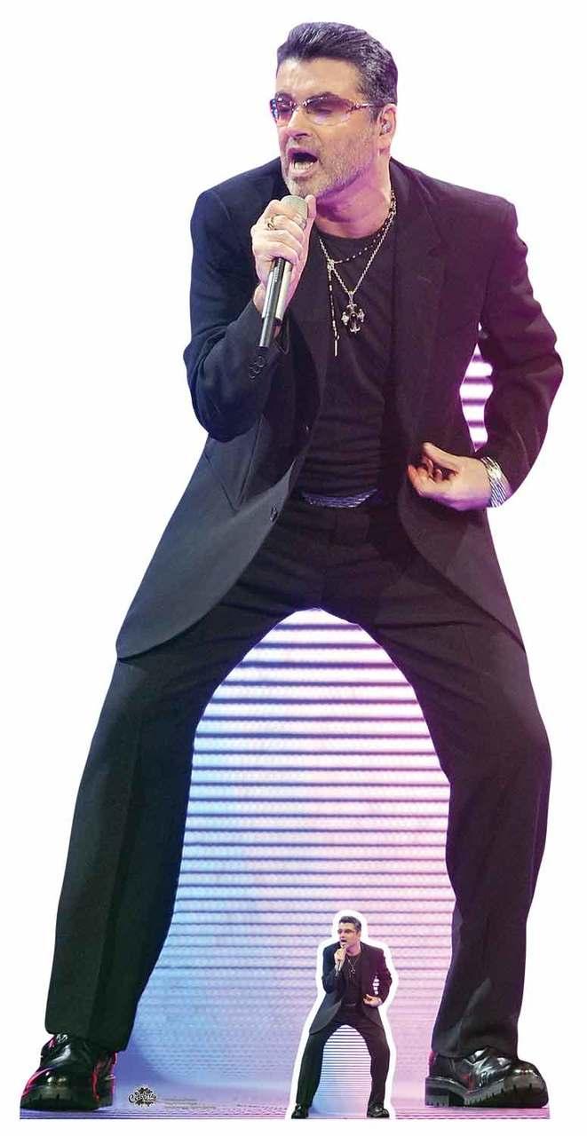 Mini Cutout Black Suit George Clooney