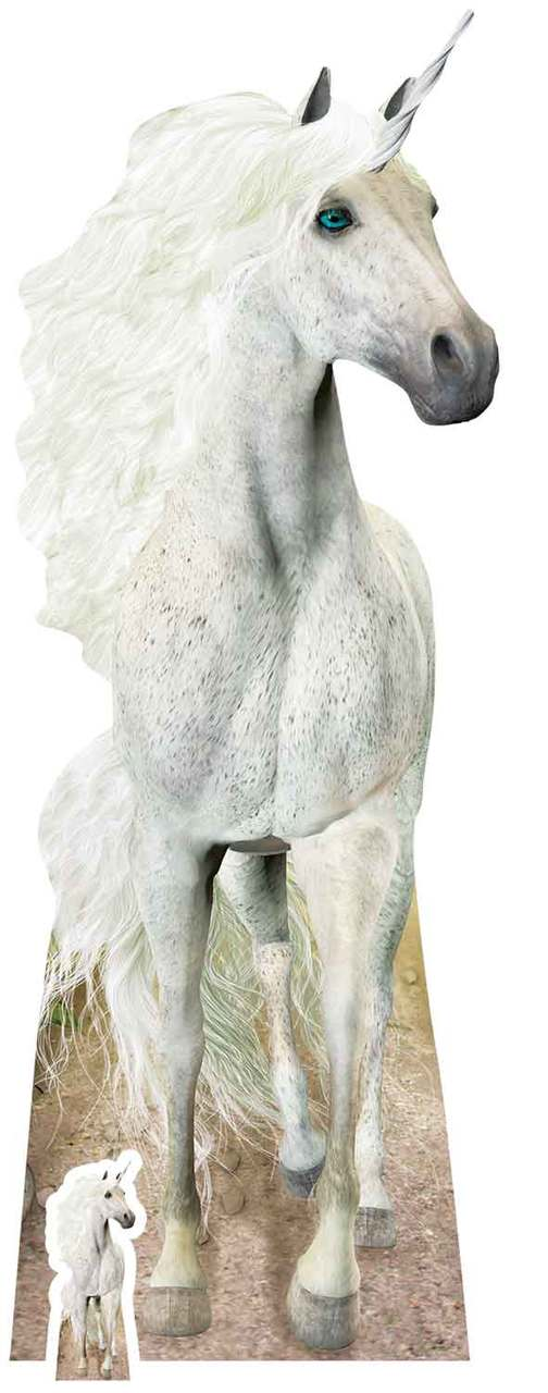 Unicorn Lifesize Cardboard Cutout Standee Standup