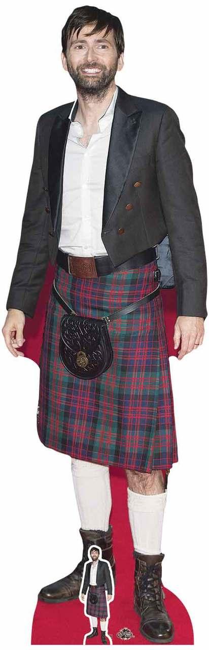 David Tennant Kilt Life Size Cutout