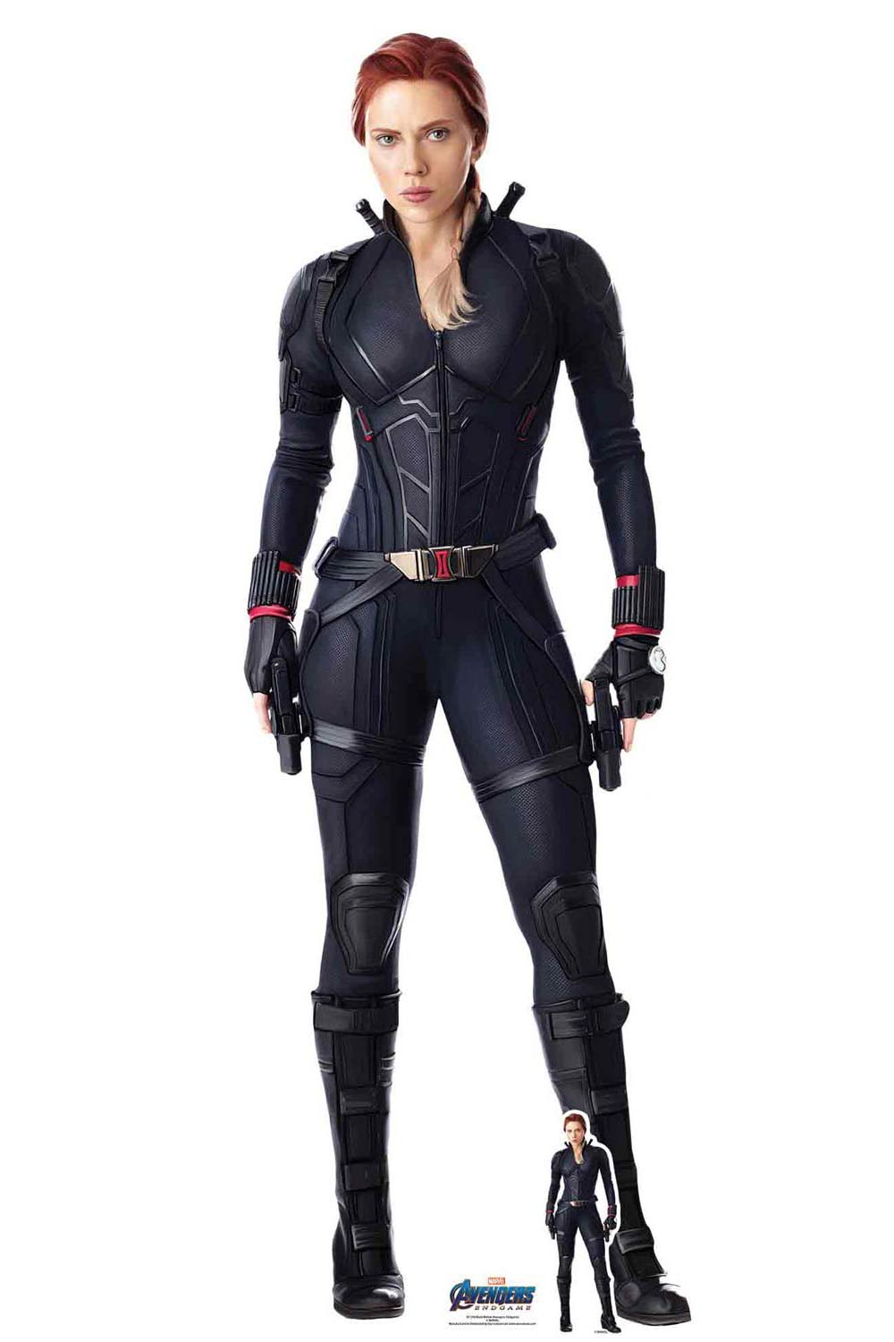 Black Widow From Marvel Avengers Endgame Official Lifesize Cardboard Cutout