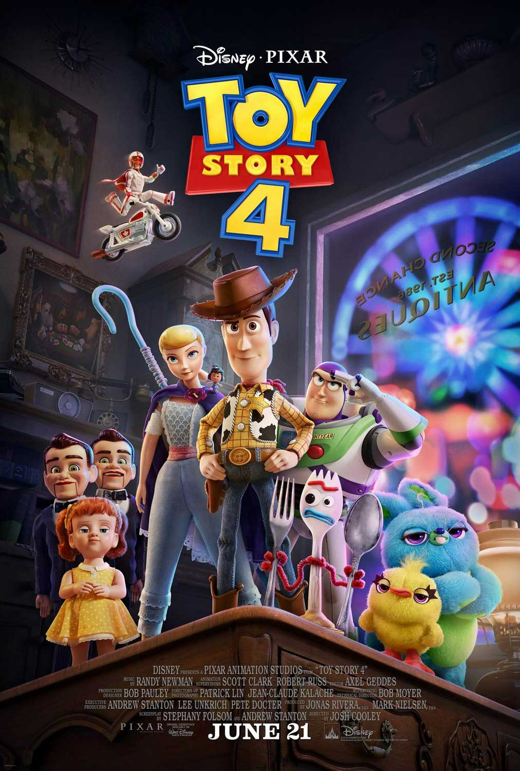 Toy Story 4 Original Movie Poster - Final Style