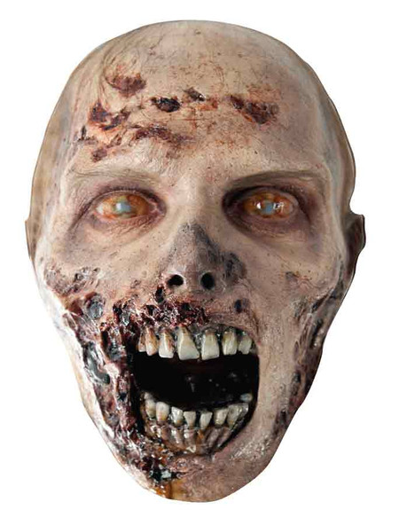 The Walking Dead Eroded Zombie Party Face Mask Available now at Starstills.com