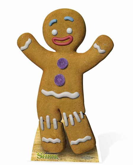 Gingy The Gingerbread Man From Shrek Cardboard Cutout Standee Standup
