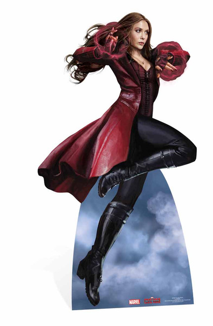 Scarlet Witch Marvel Lifesize Cardboard Cutout Standee