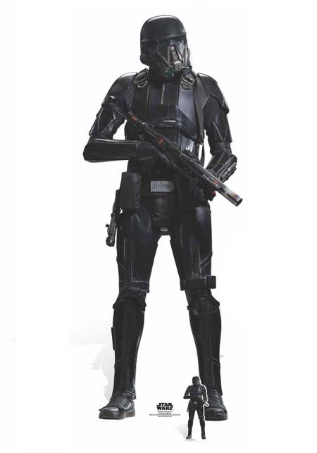 Death Trooper Rogue One A Star Wars Story Lifesize Cardboard Cutout