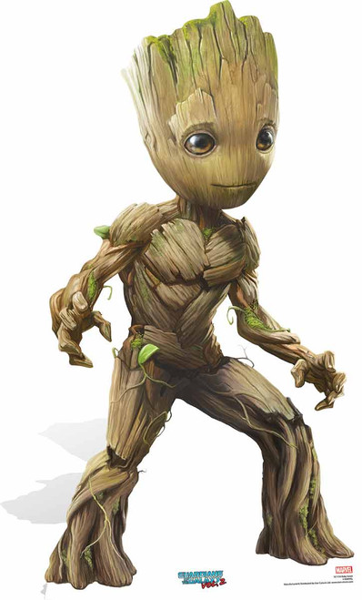 Baby Groot Cute Pose Guardians Of The Galaxy Vol 2
