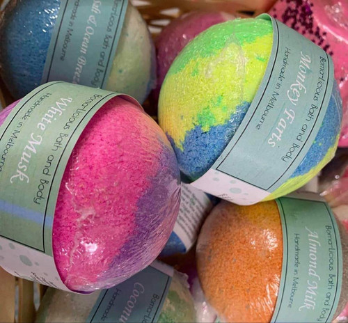 Boma-Licious Bath and Body - Round Bombs
