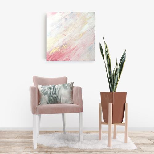 SF Creative - Summer Sunsets - Framed acrylic canvas painting
