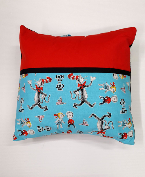 Creative Seams - Book Pillow - CS-09 - Cat in the hat