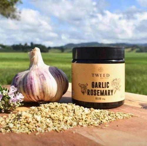Tweed Real Food - Garlic Rosemary Rub - 40gms