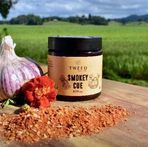 Tweed Real Food - Smokey Cue Rub - 60gms