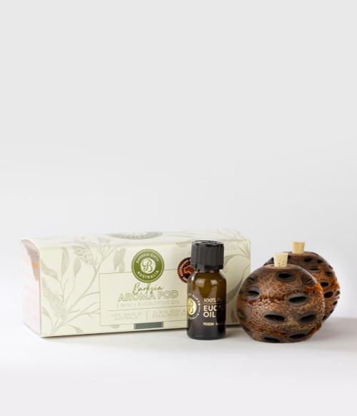 Banksia Gifts Australia - Aroma Pod Double Mini Gift Box