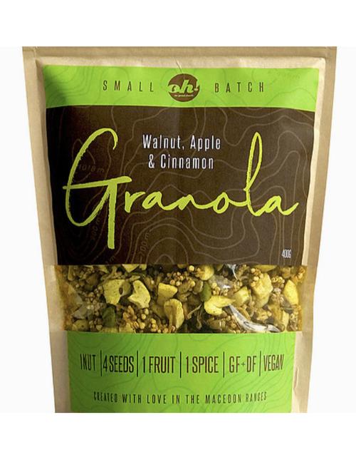 Oh! So good foods - Granola - Walnut, Apple & Cinnamon - 350gm