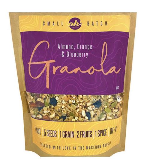 Oh! So good foods - Granola - Almond, Orange & Blueberry - 350gm