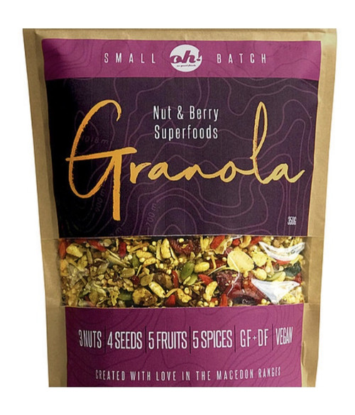 Oh! So good foods - Granola - Nut & Berry Superfoods - 350gm