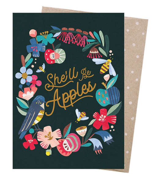 Earth Greetings - Cards - She'll be Apples