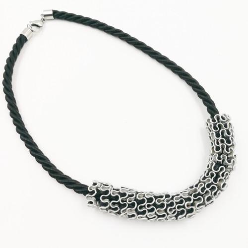 Chirara Jewellery - Nespresso Coffee Pod cord necklace - CJ001 - Black