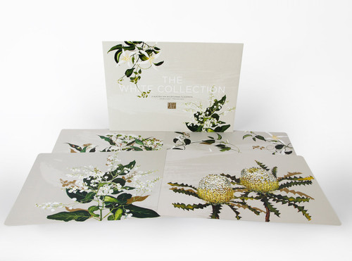 Bell Art - Dining Placemats - White Collection - 1082