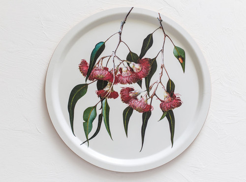 Bell Art - Tray - Circle - Eucalyptus - 1693