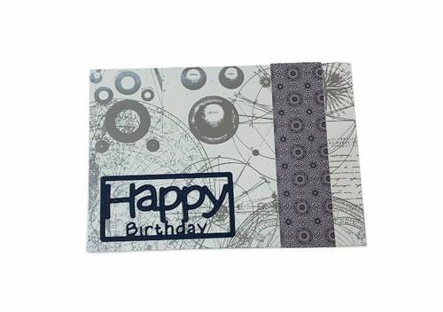 Scrappy Suzy - Cards - Birthdays In Blue