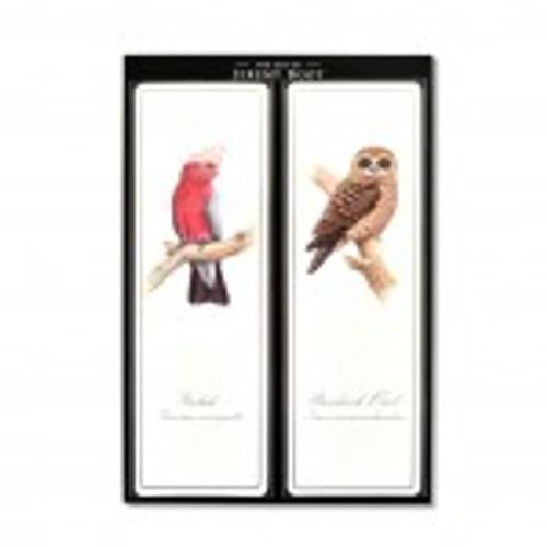 The Art of Jeremy Boot - Bookmark Pair - Galah/Owl