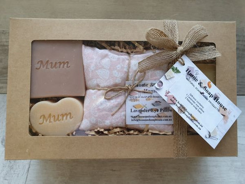 Home and Soap House - Gift Box - Eye Pillow - Mum