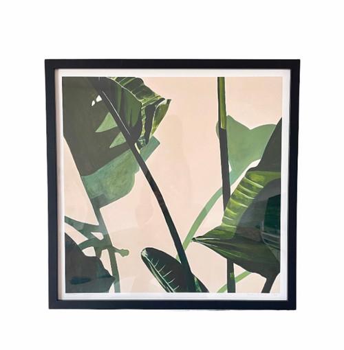 Vanessa Maver Art - Shadow Boxers - Limited Adition Print - 50cm x 50cm
