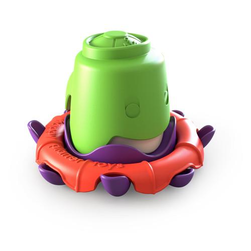 Happy Planet Toys - Octo-buoy stacking Bath Cup