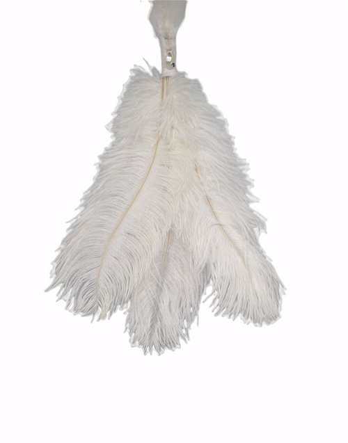 Maxine and Me - Bridal Charms - Good Luck - 3 Ostrich Feathers - MAM000S102