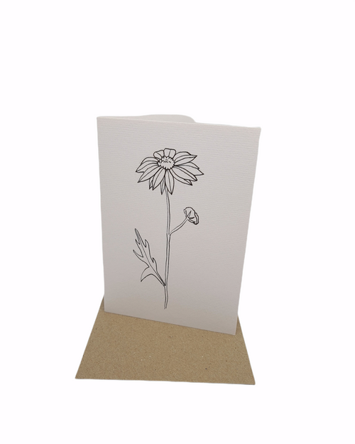 Art Susi - Cards - Ink flowers