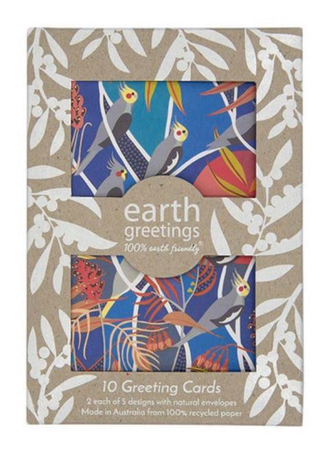 Earth Greetings - Card Pack - Wild Australia - Pack of 10