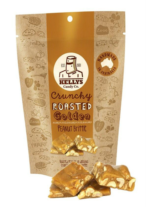 Kellys Candy Co - Pouch - Peanut Brittle - 200gms