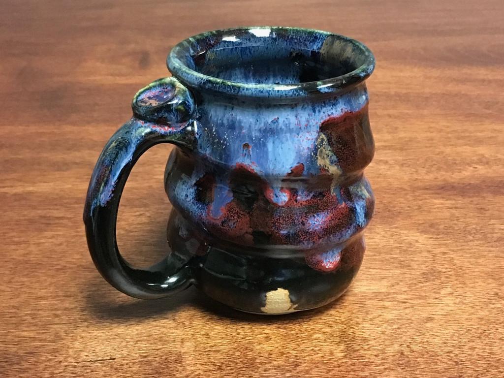 Cosmic Mug, roughly 12-14oz size, Inspired by a Planetary Nebula (SK831)