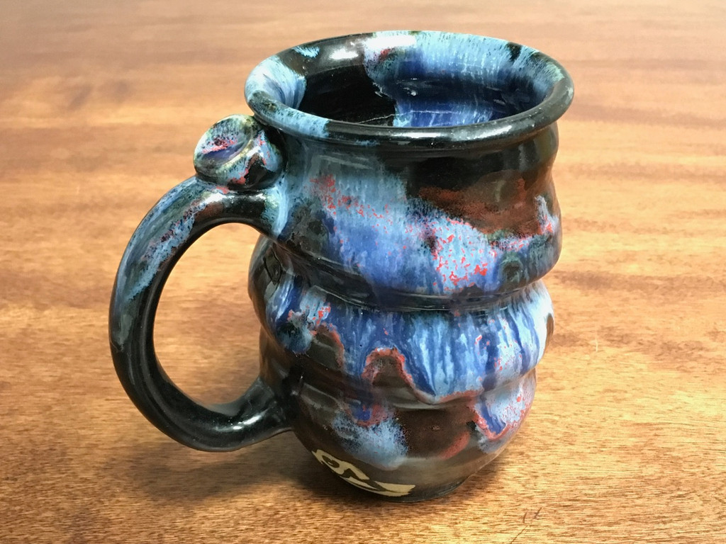 Cosmic Mug, roughly 16-18oz size, Inspired by a Planetary Nebula (SK1456)