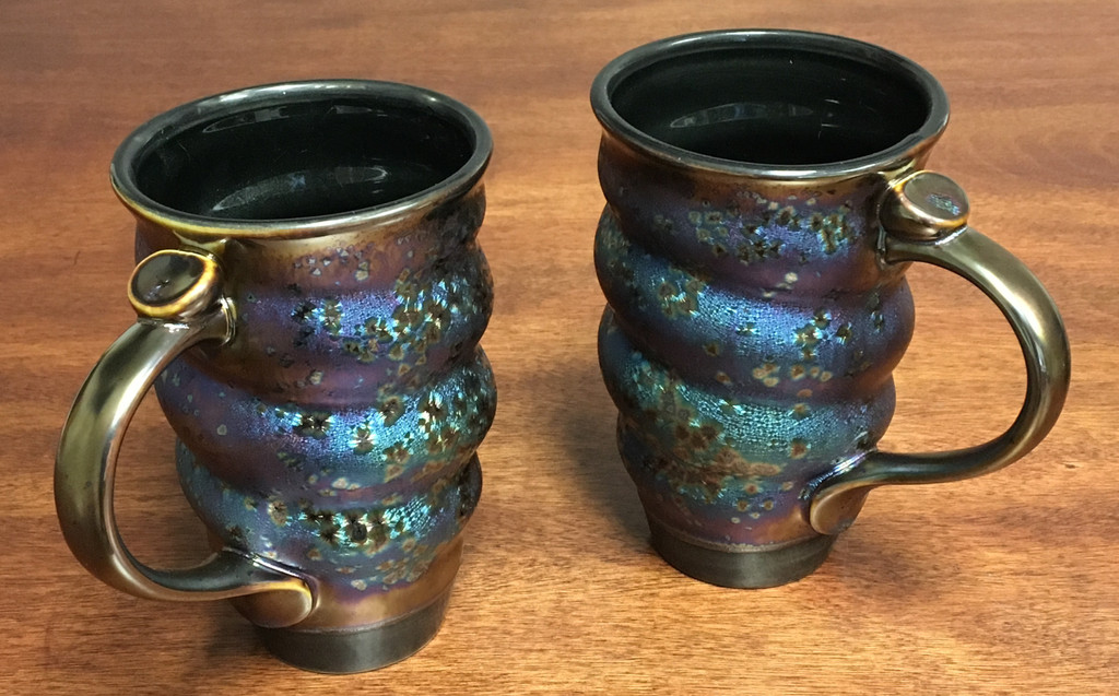 """One Factory Made Cosmic Mug, Designed by Joel Cherrico, """"Made in China"""" roughly 15-16oz. size"""