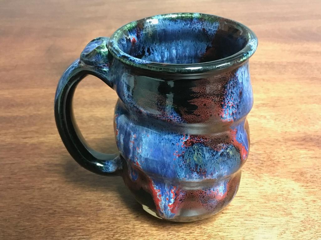 Cosmic Mug, roughly 14-16oz size, Inspired by a Planetary Nebula (SK3202)