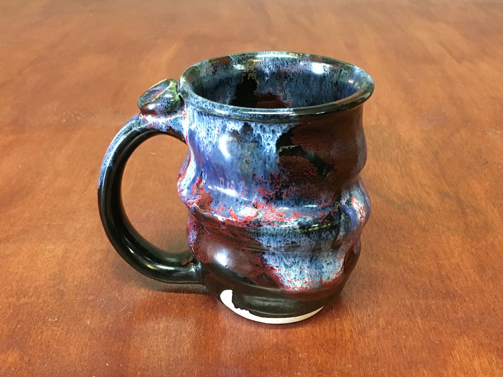 Flawed Cosmic Mug, roughly 12oz size, Inspired by a Planetary Nebula (SK4500)