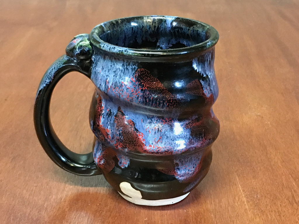 Flawed Cosmic Mug, roughly 12-14oz size, Inspired by a Planetary Nebula (SK4597)