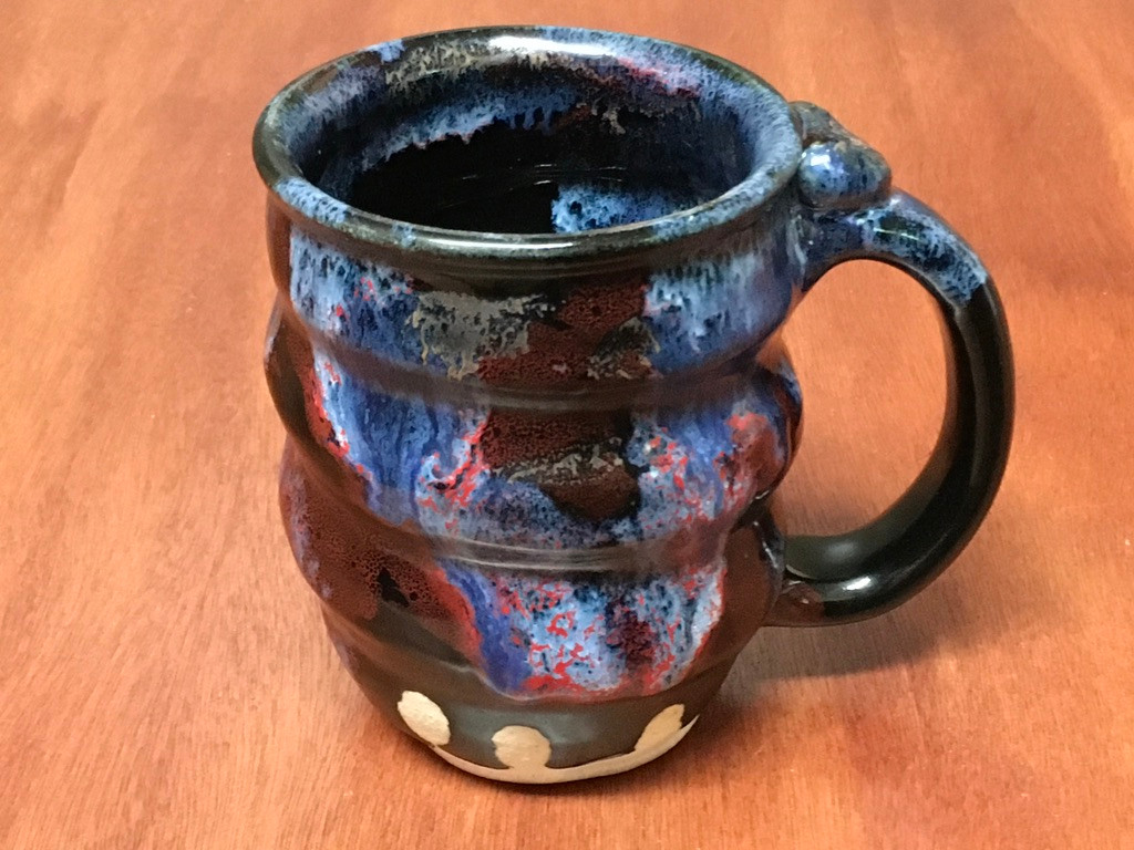 Cosmic Mug, roughly 12-14oz size, Inspired by a Planetary Nebula (SK5367)
