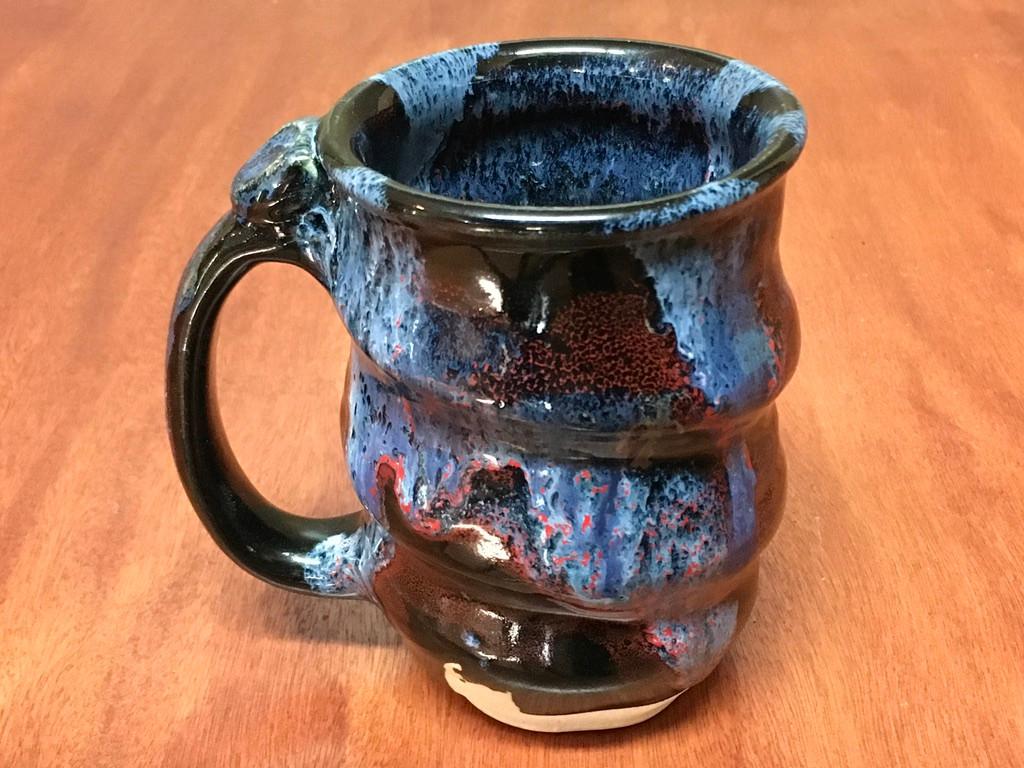 Cosmic Mug, roughly 12-14oz size, Inspired by a Planetary Nebula (SK5727)