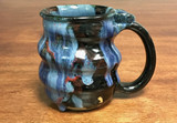 Cosmic Mug, roughly 15-16oz size, Inspired by a Planetary Nebula (SK314)