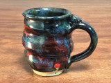 Cosmic Mug, 14 ounce size, Inspired by a Star-Formation Nebula (SP107)