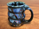 Cosmic Mug, roughly 15-16oz size, Inspired by a Planetary Nebula (SK554)