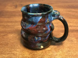 Cosmic Mug, roughly 12-14oz size, Inspired by a Planetary Nebula (SK949)