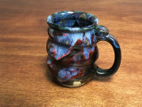 Discounted: $20 OFF Cosmic Mug, roughly 14-16oz size, Inspired by a Planetary Nebula (SK967)