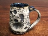 "Lunar/Moon Mug, roughly 15-16 ounces, Inspired by 'Planetary Nebula""  (SK1291)"