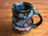 Cosmic Mug, roughly 16-18oz size, Inspired by a Planetary Nebula (SK1376)