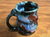 Cosmic Mug, roughly 15-16oz size, Inspired by a Planetary Nebula (SK1472)