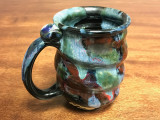 Cosmic Mug, roughly 16-18oz size, Inspired by a Star-Formation Nebula (SK1457)